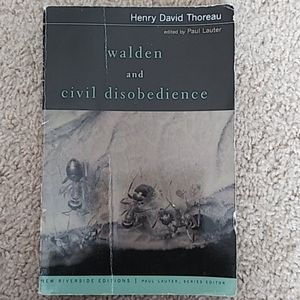 📚 Walden and Civil Disobedience Book